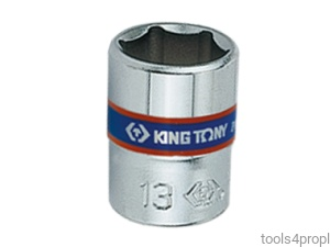 NASADKA KRÓTKA 1/4'' 4mm x 24,5mm, 6-kąt. King Tony 233504M