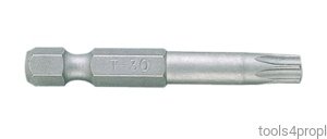 BIT DO WKRĘTAREK 1/4'' TORX T10 x 70mm King Tony 717010T