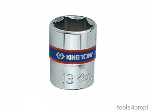 NASADKA KRÓTKA 1/4'' 13mm x 24,5mm, 6-kąt. King Tony 233513M